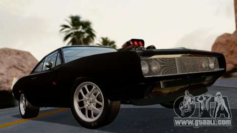 Dodge Charger from FnF4 for GTA San Andreas