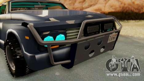 Slamvan v2.0 for GTA San Andreas back view