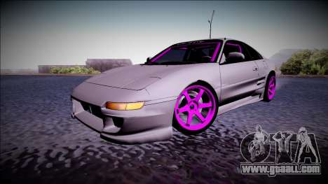 Toyota MR2 Drift Monster Energy for GTA San Andreas