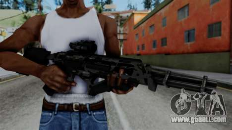 CoD Black Ops 2 - Storm PSR for GTA San Andreas third screenshot