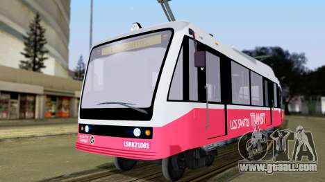 GTA 5 Metrotrain for GTA San Andreas