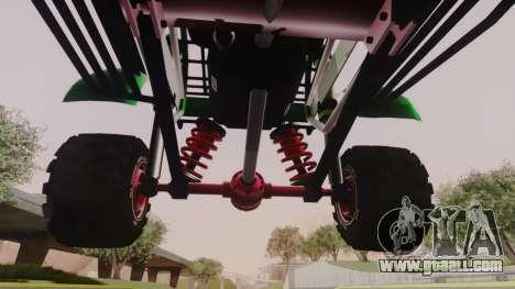 Mudmonster for GTA San Andreas inner view