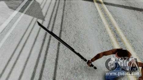 Deadpools Sword for GTA San Andreas third screenshot