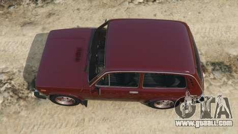 GTA 5 VAZ-2121 back view