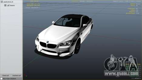 GTA 5 2013 BMW M6 Coupe right side view