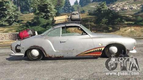 Volkswagen Karmann-Ghia Typ 14 1967 for GTA 5