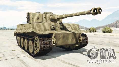 Panzerkampfwagen VI Ausf. E Tiger for GTA 5