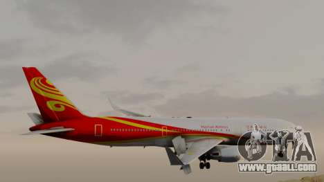 Boeing 767-300ER Hainan Airlines for GTA San Andreas back left view
