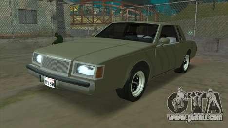 Willard Majestic for GTA San Andreas