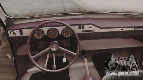 Dacia 1310 1979 for GTA San Andreas back view