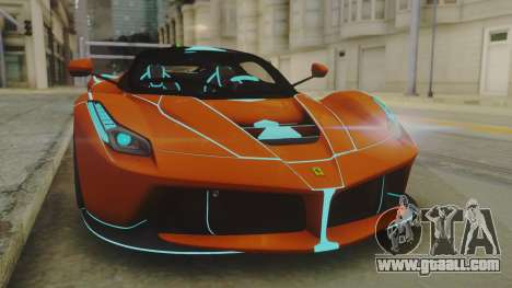 Ferrari LaFerrari TRON Edition v1.0 for GTA San Andreas right view