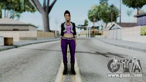 Shaundi from Saints Row for GTA San Andreas second screenshot