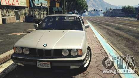 BMW 535i E34 v1.1 for GTA 5