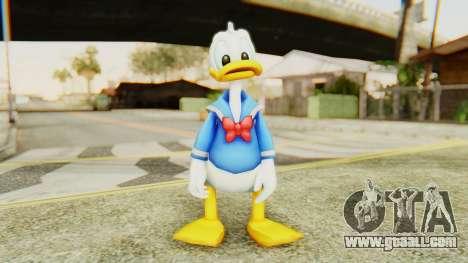 Kingdom Hearts 2 Donald Duck v2 for GTA San Andreas second screenshot