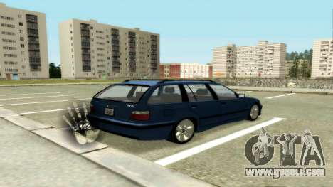 BMW 318i Wagon Touring Wagon for GTA San Andreas right view