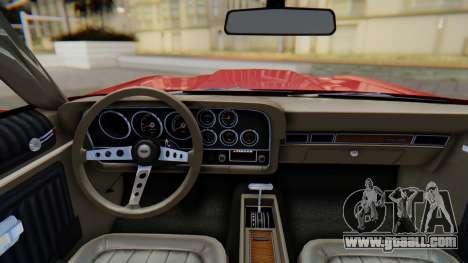 Ford Gran Torino Sport SportsRoof (63R) 1972 PJ1 for GTA San Andreas right view