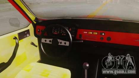 Renault 12 Toros v2 for GTA San Andreas back view