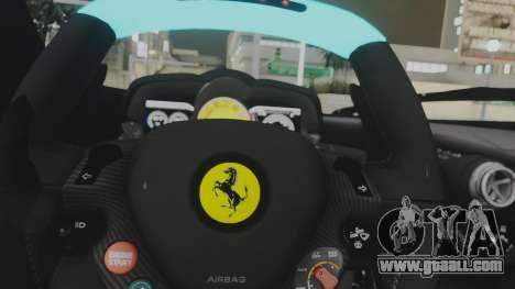 Ferrari LaFerrari TRON Edition v1.0 for GTA San Andreas side view