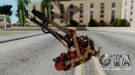Fallout 4 - Flamethrower for GTA San Andreas