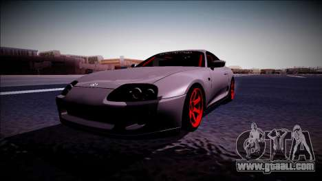 Toyota Supra Drift Monster Energy for GTA San Andreas right view
