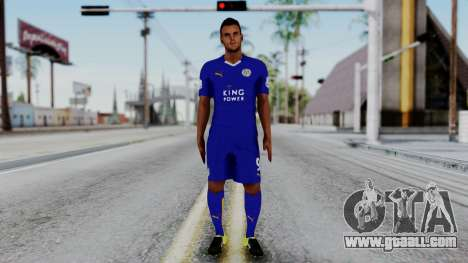 Jamie Vardy - Leicester City 2015-16 for GTA San Andreas second screenshot