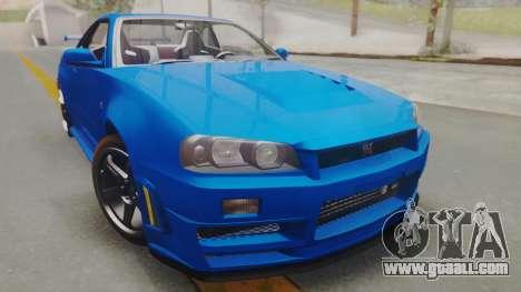 Nissan Skyline GT-R 2005 Z-Tune for GTA San Andreas