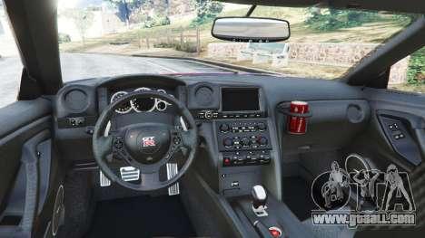 Nissan GT-R (R35) [LibertyWalk] v1.1 for GTA 5
