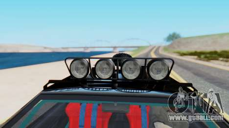 Virgo v3.0 Final for GTA San Andreas back view