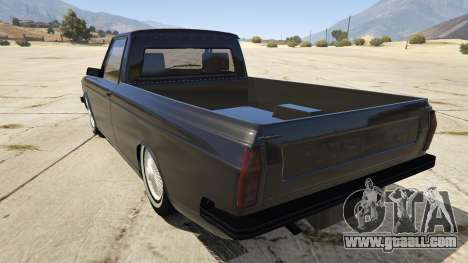 GTA 5 Peykan Vanet rear left side view