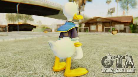 Kingdom Hearts 2 Donald Duck Default v2 for GTA San Andreas third screenshot