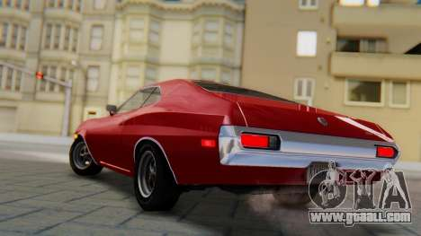 Ford Gran Torino Sport SportsRoof (63R) 1972 PJ1 for GTA San Andreas left view