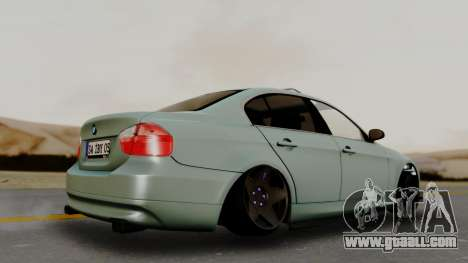 BMW M3 E90 for GTA San Andreas back left view