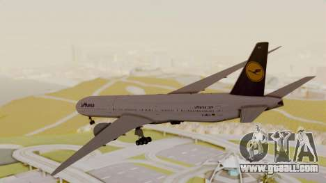 Boeing 777-9x Deutsche Lufthansa for GTA San Andreas right view