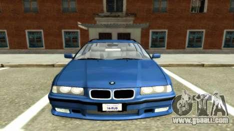 BMW 318i Wagon Touring Wagon for GTA San Andreas
