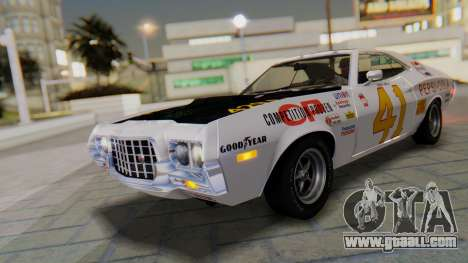 Ford Gran Torino Sport SportsRoof (63R) 1972 IVF for GTA San Andreas inner view