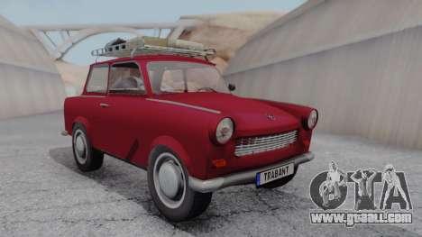 Trabant 601 for GTA San Andreas