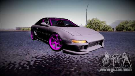 Toyota MR2 Drift Monster Energy for GTA San Andreas left view