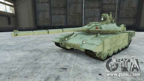 GTA 5 T-90MS right side view