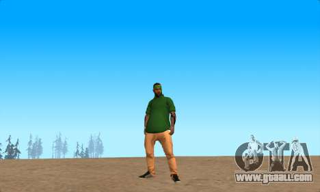 Skin Pak Grove from NeveR for GTA San Andreas second screenshot