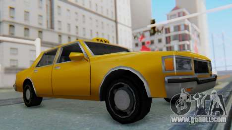 Taxi Version of LV Police Cruiser for GTA San Andreas