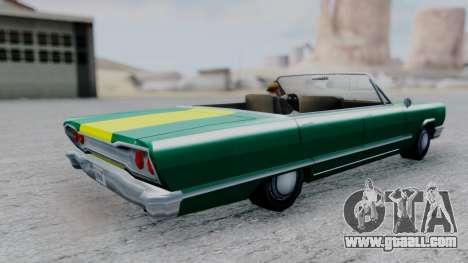 Savanna F&F4 Chevy PJ for GTA San Andreas back left view