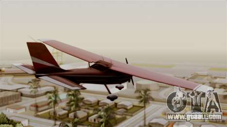 GTA 5 Jobuilt Mammatus for GTA San Andreas left view