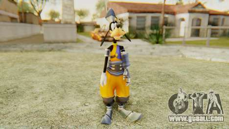 Kingdom Hearts 1 Goofy Disney Castle for GTA San Andreas second screenshot