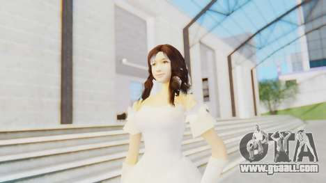 Lin Chi-Ling Bride Outfit for GTA San Andreas