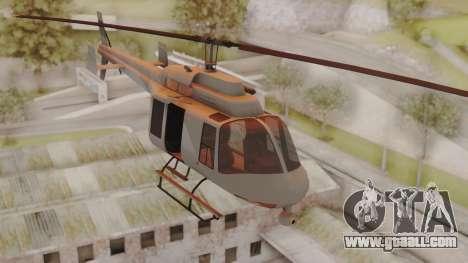 GTA 5 Buckingham Maverick for GTA San Andreas back left view