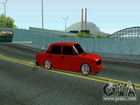 VAZ 2107 Rang Rover Edition for GTA San Andreas left view
