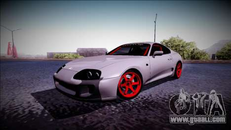 Toyota Supra Drift Monster Energy for GTA San Andreas