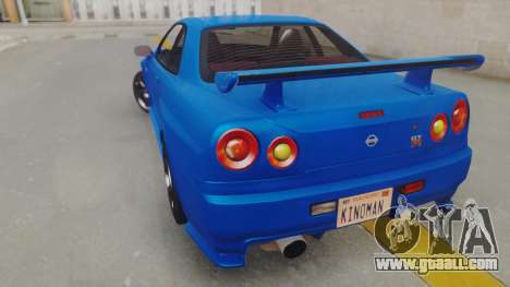 Nissan Skyline GT-R 2005 Z-Tune for GTA San Andreas left view