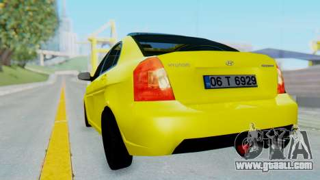 Hyundai Accent Era for GTA San Andreas left view