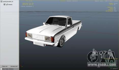 GTA 5 Peykan Vanet right side view